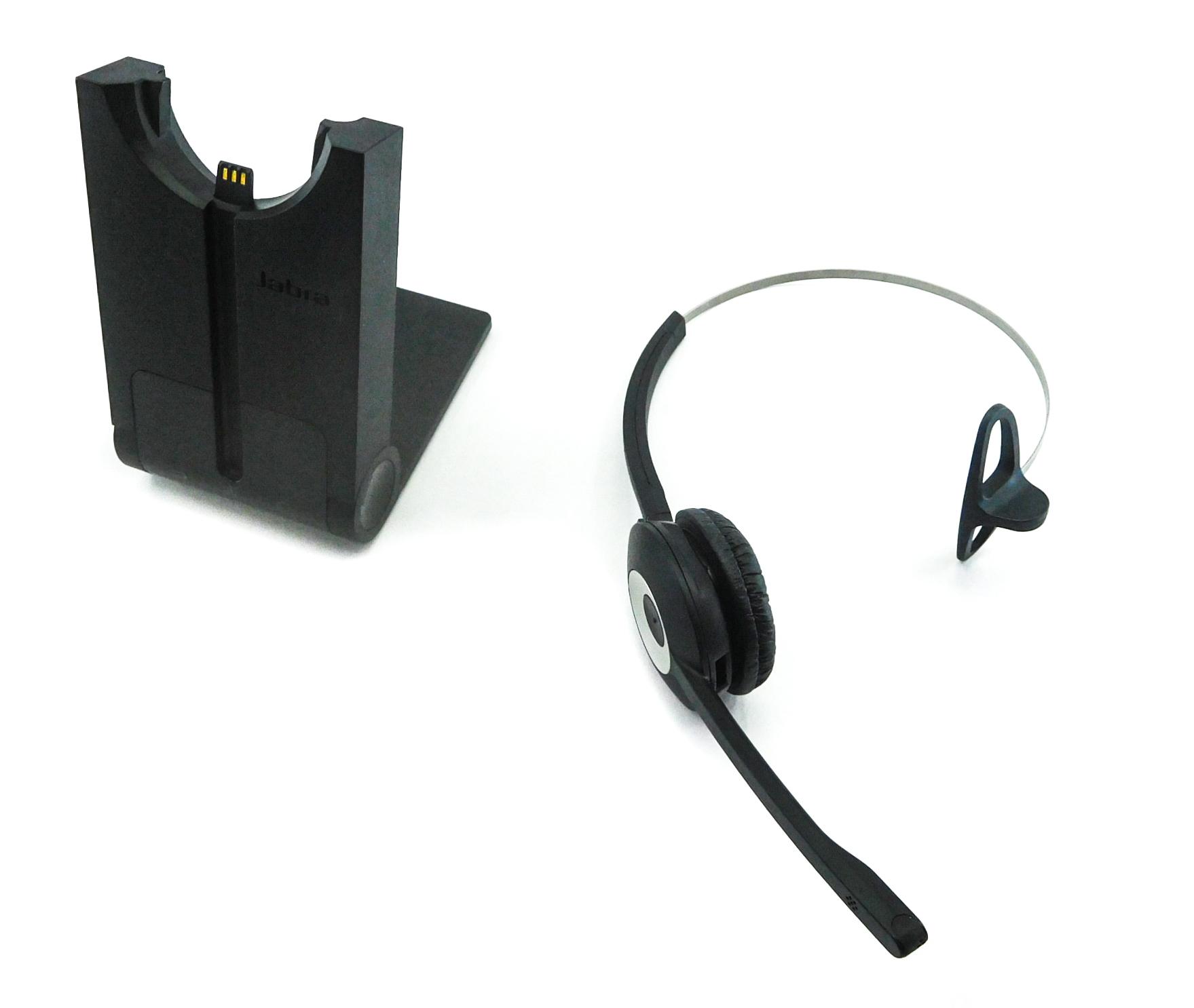 Jabra PRO 930 UK Wireless Headset DECT System w/ WHB003 Base Station No PSU